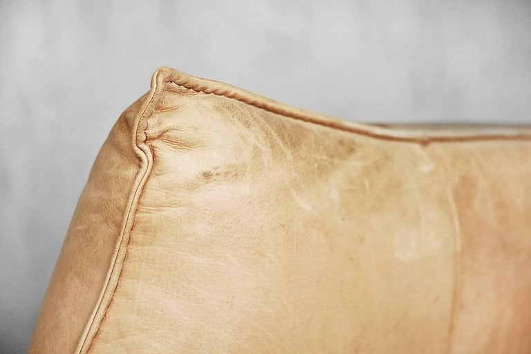 Leather the Rock Sofa by Gerard Van Den Berg for Montis, 1970s For Sale 4