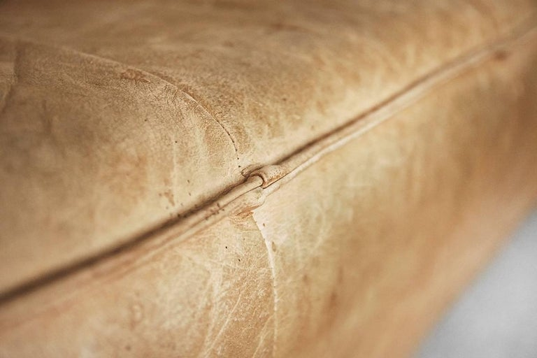 Leather the Rock Sofa by Gerard Van Den Berg for Montis, 1970s For Sale 9