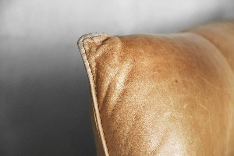 Leather the Rock Sofa by Gerard Van Den Berg for Montis, 1970s For Sale 10