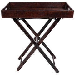 Leather Tray Table by Ralph Lauren