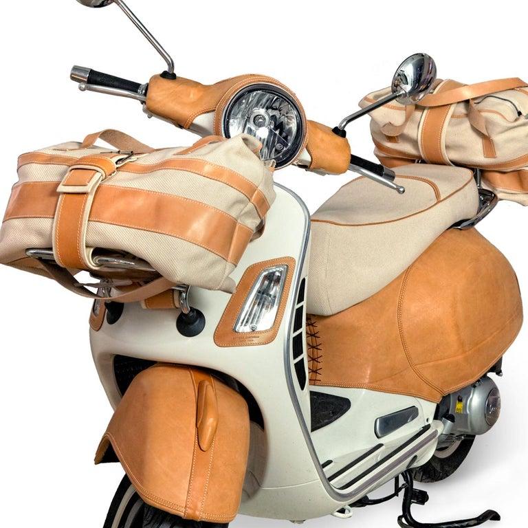 Italian Leather Vespa For Sale