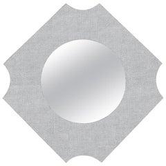 Leather Whitehall Mirror