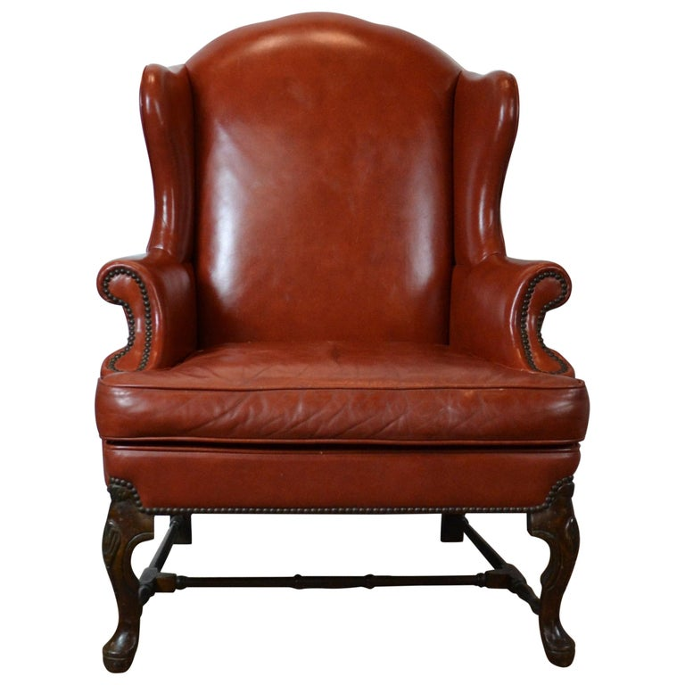 Cool Leather Wingback Chair Short Links Chair Design For Home Short Linksinfo