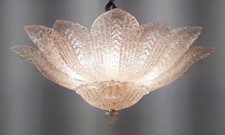 Leaves Flushmount by Fabio Ltd In New Condition For Sale In Venice, Italy