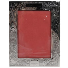 Lebkuecher Sterling Silver Picture Frame for Baby's Vital Stats