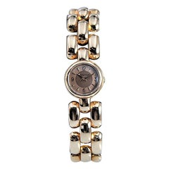 LeCoultre Ladies Rose Gold Full Size Backwind Round Bracelet Watch