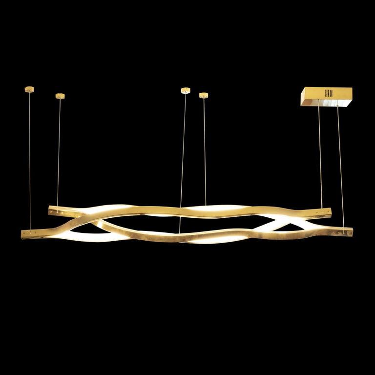Contemporary LED Belva Pendant For Sale