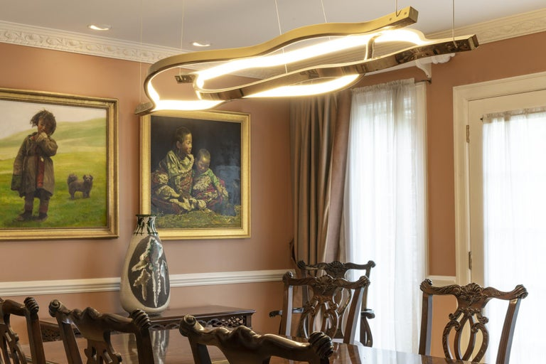 LED Belva Pendant For Sale 1