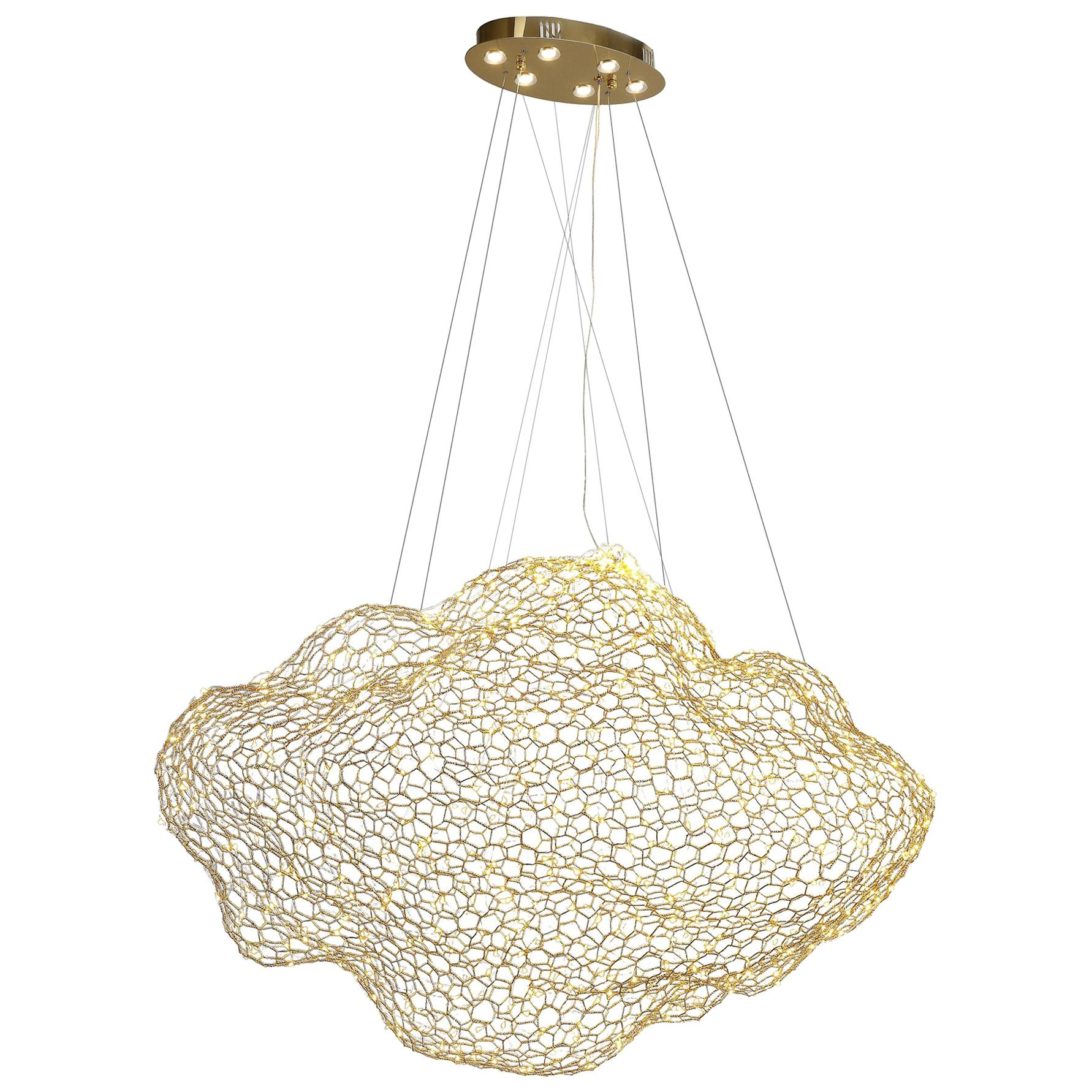 LED Cloud Chandelier Small
