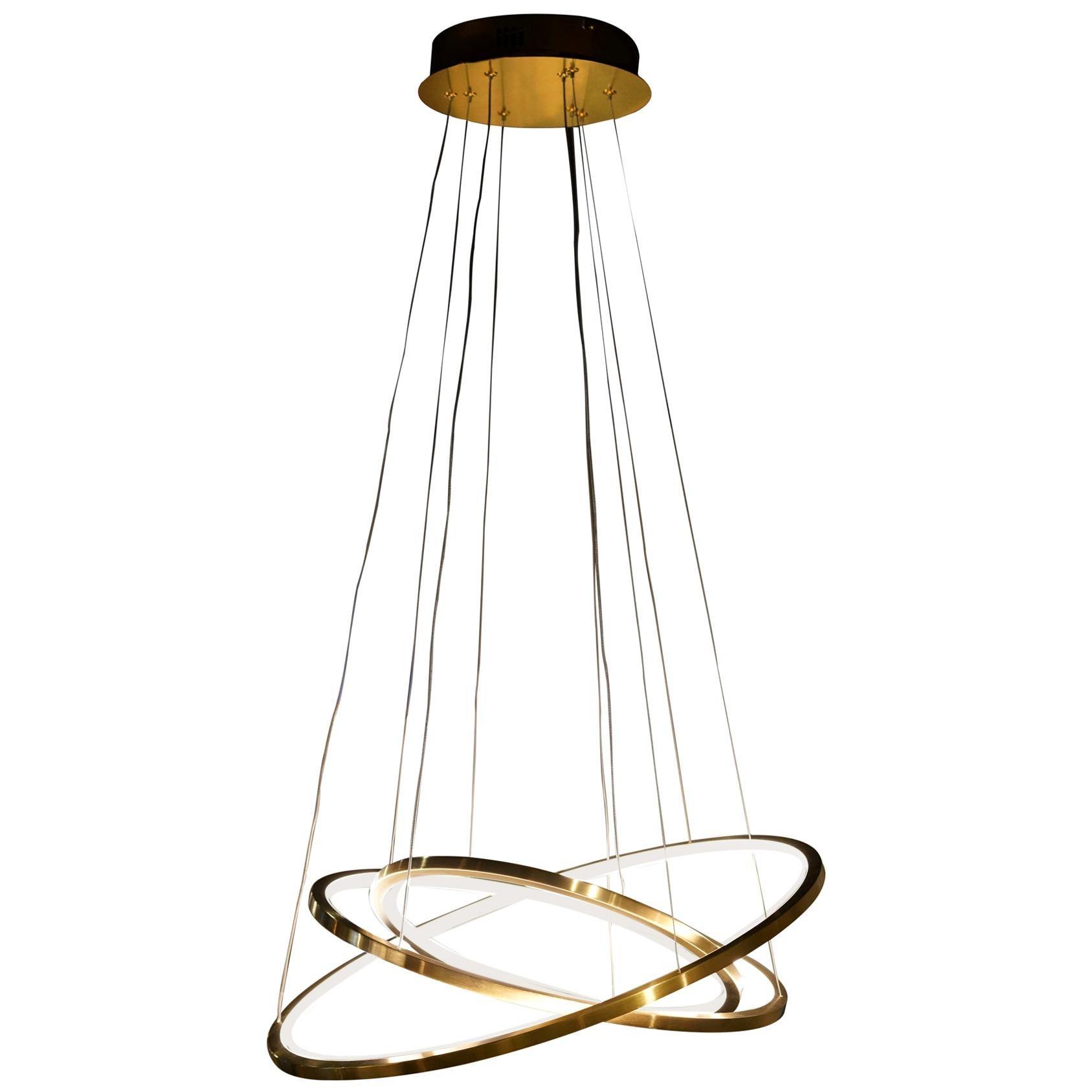 LED Swirl Pendant 3