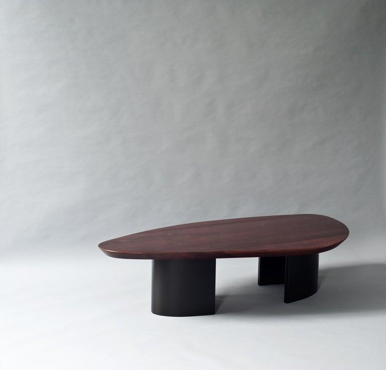 Modern Ledge Coffee Table by DeMuro Das For Sale