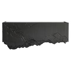 """Ledge Floating Console (60"""") in Black by Simon Johns"""