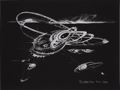 Untitled -- Print, Lithograph, Postwar Abstraction by Lee Bontecou