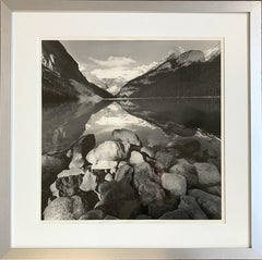 Lake Louise, Silver Gelatin Photograph by Lee Friedlander