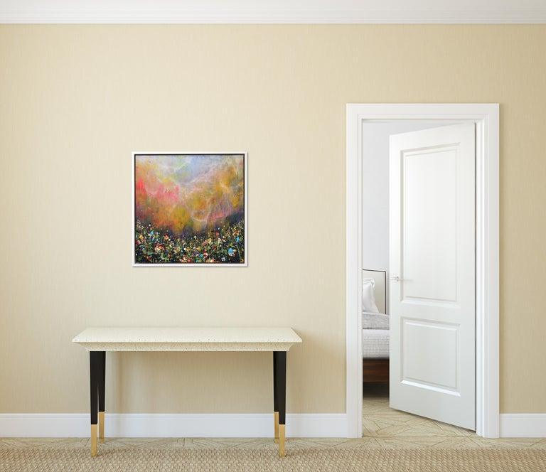 Clouds Sweep - Painting by Lee Herring