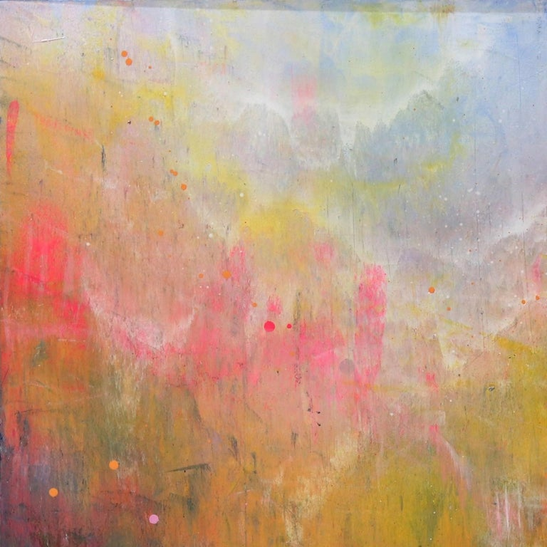 Clouds Sweep - Abstract Painting by Lee Herring