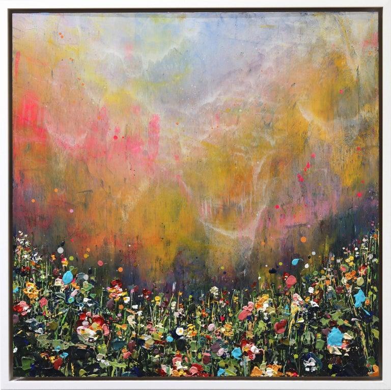 Lee Herring Landscape Painting - Clouds Sweep