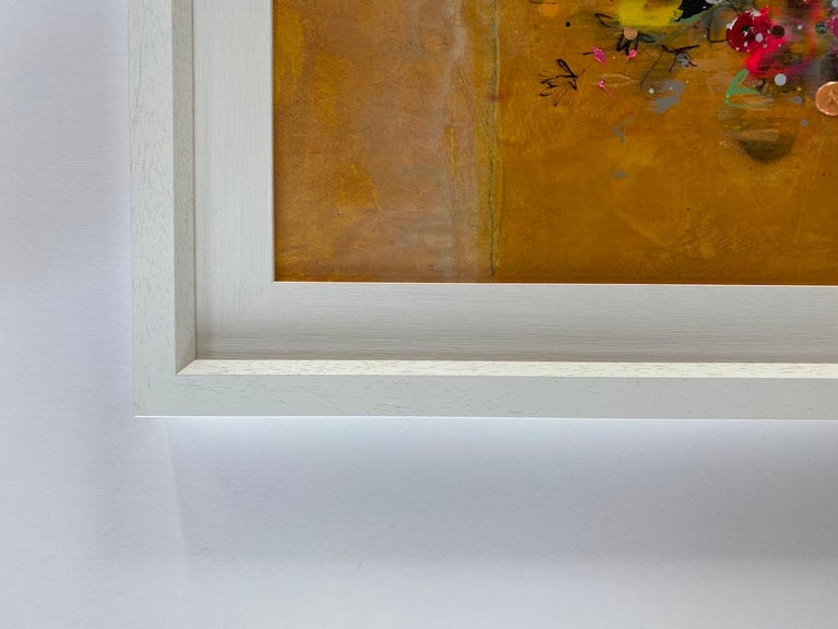 Lee Herring, Golden Light Original, Abstract Still Life Painting, Affordable Art For Sale 9
