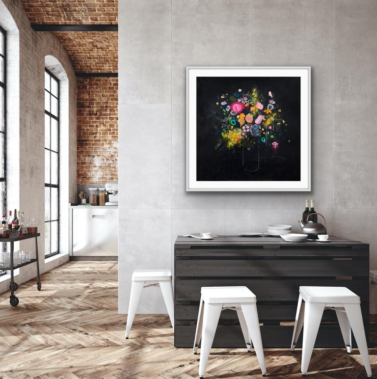 Lee Herring, Glowing Rose, Contemporary Art, Limited Edition Print For Sale 3