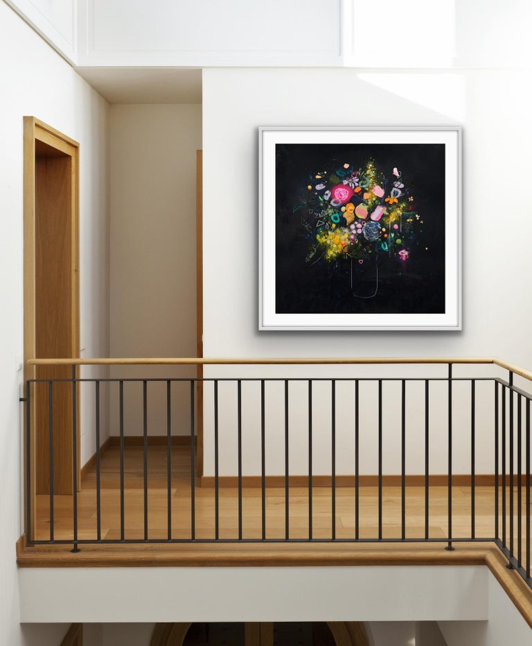 Lee Herring, Glowing Rose, Contemporary Art, Limited Edition Print For Sale 4