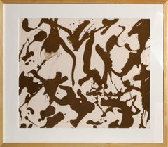 Peace, Abstract Silkscreen by Lee Krasner Pollock