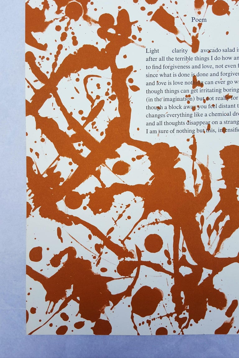 Poem - Print by Lee Krasner