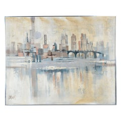 Lee Reynolds Cityscape Sofa Painting
