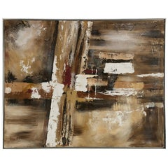 Lee Reynolds Large Abstract Painting Vanguard Studio