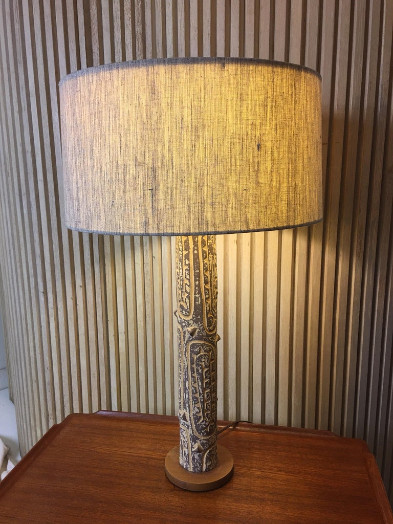Lee Rosen for Design Technics Ceramic Table Lamp For Sale 2