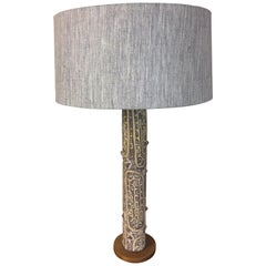 Lee Rosen for Design Technics Ceramic Table Lamp