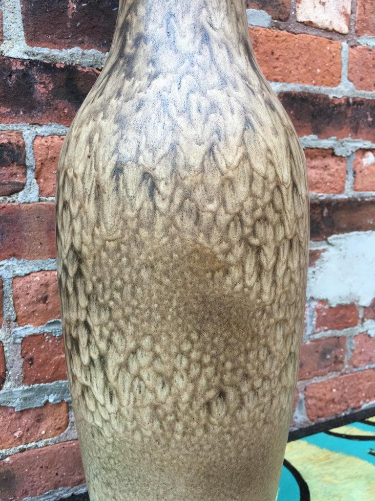 Lee Rosen for Design Technics Matte Glaze Pottery Lamp For Sale 2