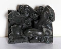 Modern Erotic, Bronze Table Sculpture