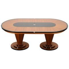 Lee Weitzman Art Deco Dining Room Table, 1999