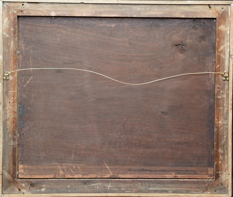 Still Life Arrangement - Dutch Old Master 17thC art oil painting fruit butterfly For Sale 7