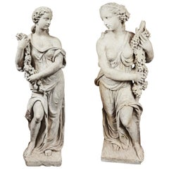 Left and Right, Italian Limestone Nymphs
