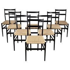 Leggera Chairs by Gio Ponti for Cassina, Milano, 1960s