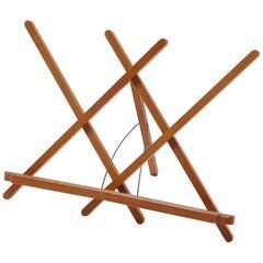 Leggio Pieghevole Folding Wooden Music Stand by Bottega Ghianda