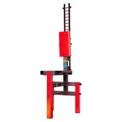 Lego Red-Yellow Chair