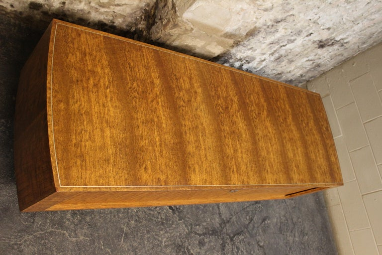 20th Century Leif Jacobsen Executive Credenza or Sideboard For Sale