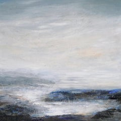Beyond Words 802 abstract landscape painting