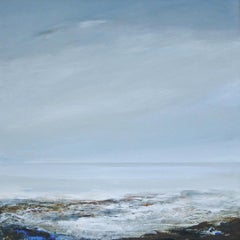 Cool Whisper abstract sea  Landscape Painting contemporary art 21st century