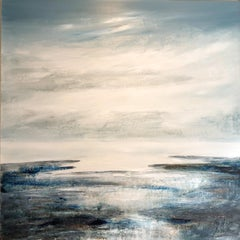 Costal Intervention 803  abstract landscape painting