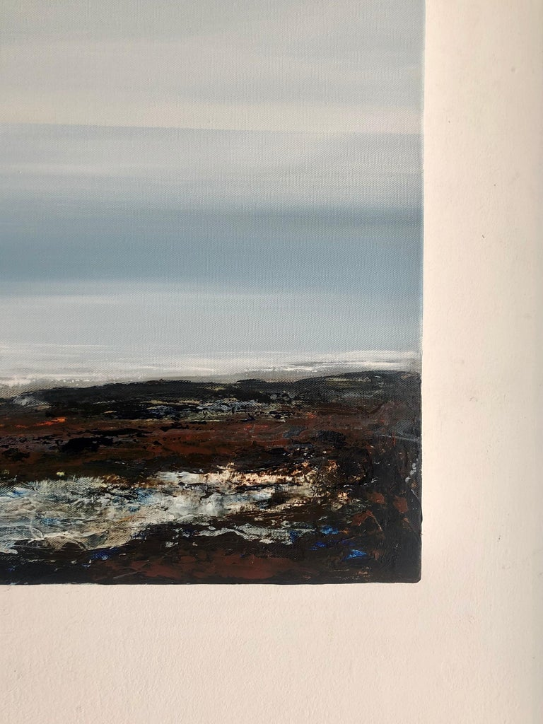 Light on the Water - landscape sea ocean Painting Contemporary modern For Sale 3