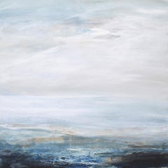 Sea Breeze - abstract ocean holiday Seascape Painting contemporary artwork