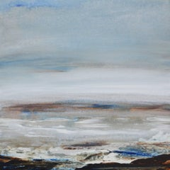 Tread Softly 211 - abstract landscape coastal painting modern art 21st century