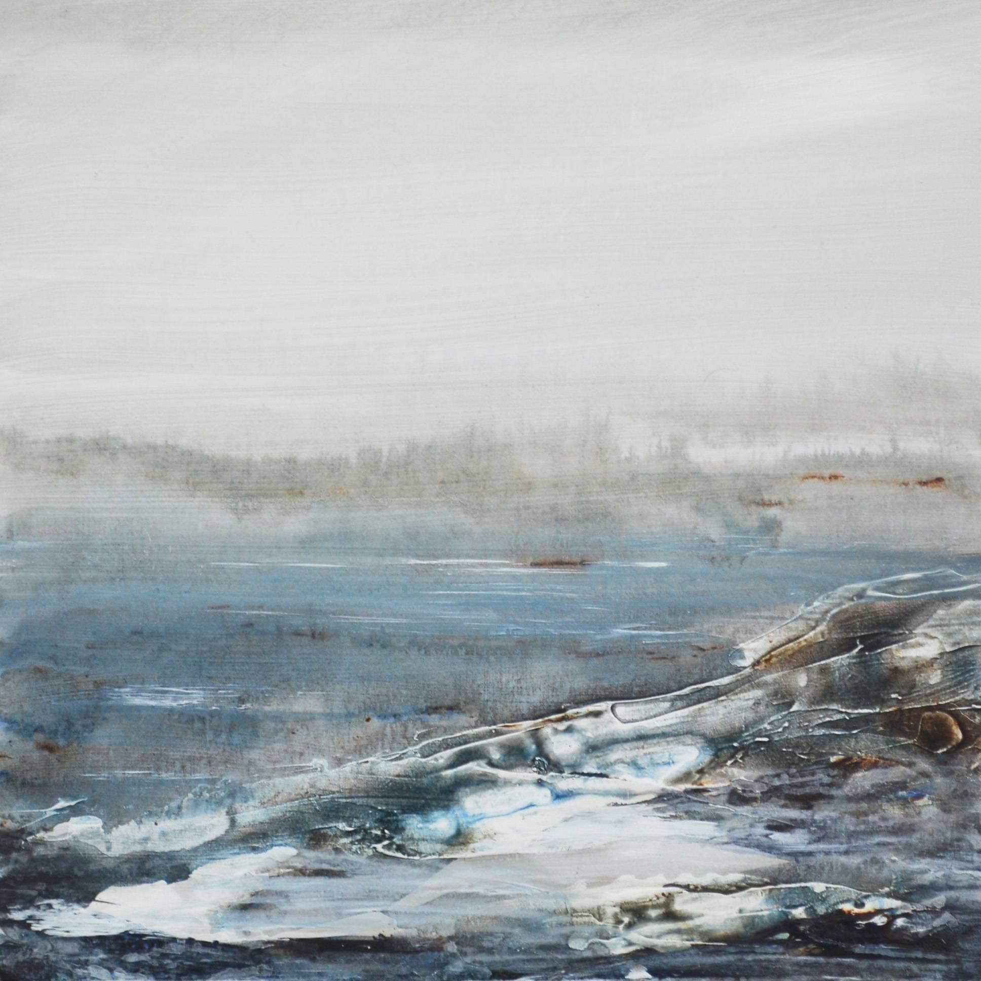 Tread Softly 213 - Abstract landscape sea oil painting Modern Contemporary Art