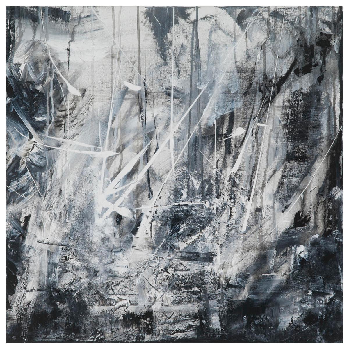 "Leila Pinto, ""Brexit I"" Acrylic on Canvas"