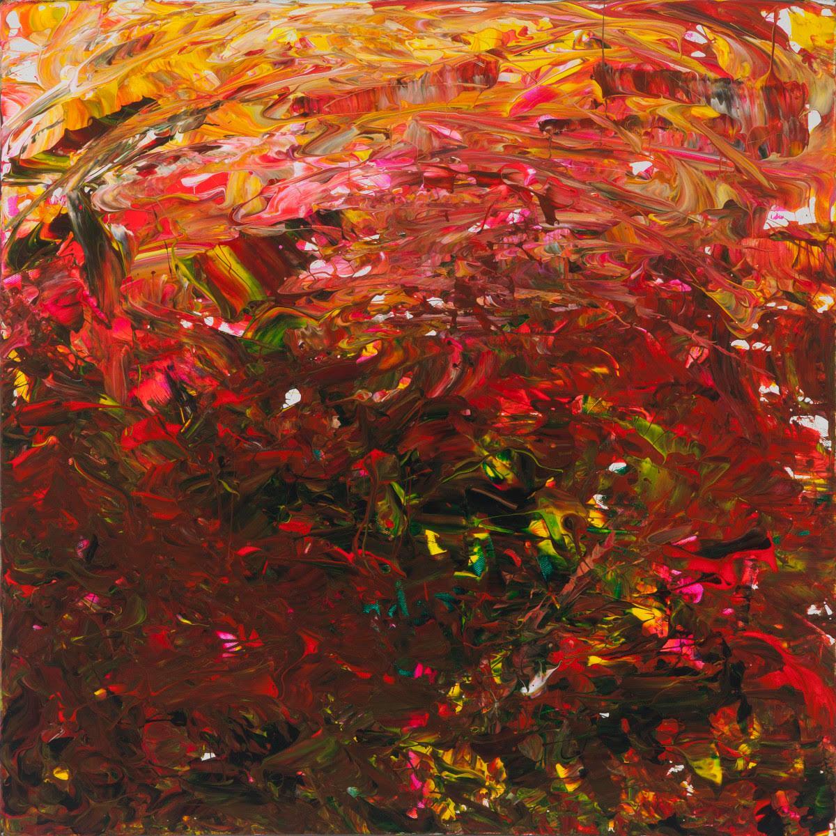 "Leila Pinto ""Exuberance Vs. Uncertainty""  Acrylic On Canvas"