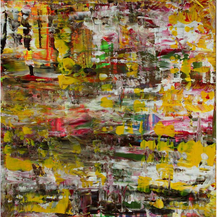 "Leila Pinto, ""Medium Volatility"", Acrylic On Canvas"