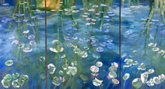 The Waterlilies - Triptych